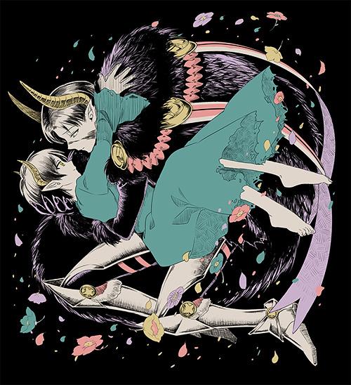 Лорд-демон капрал и торговка цветами Эрен v1 - 8